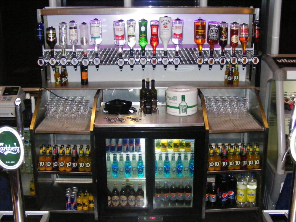 Bar equipment hire from Midlands Bar Hire